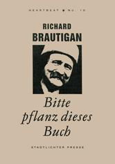 Please plant this book richard brautigan
